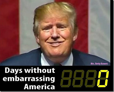 Days Without Embarrassing America