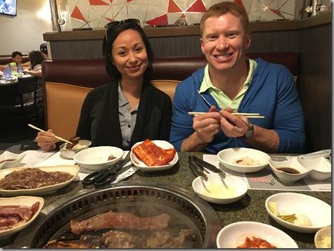 Sandra and Nate Korean BBQ 6-1-17