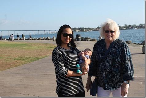 Sandra Quinn and Tonya Seaport Village-2 10-3-17