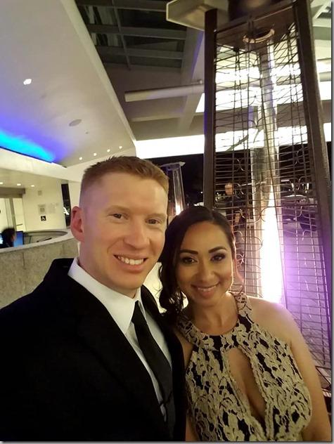 Nate and Sandra Corpsman Ball-3 6-16-18