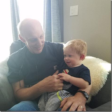 Grandpa and Quinn San Diego Trip Oct 2018