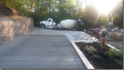 Finished driveway-3 9-26-18