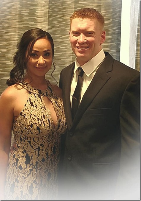Nate and Sandra Corpsman Ball-2 6-16-18