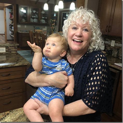Haha Quinn and Nonna 7-13-18