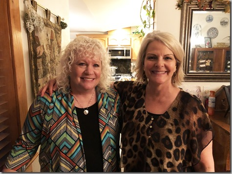 Tonya and Sheri Christmas Day 2018