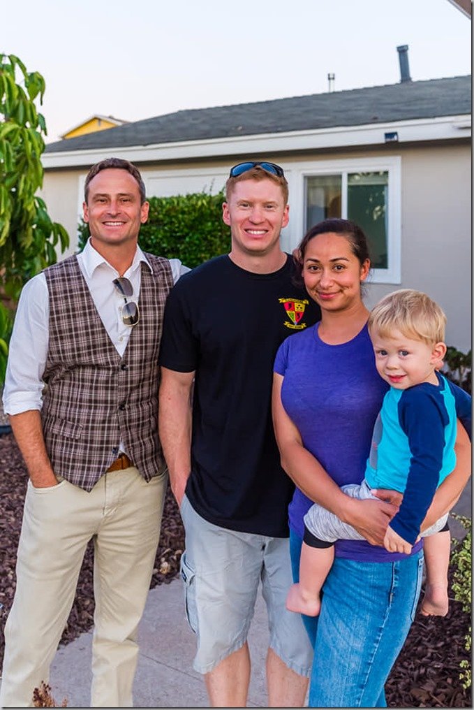 Family after house put on market 7-11-19