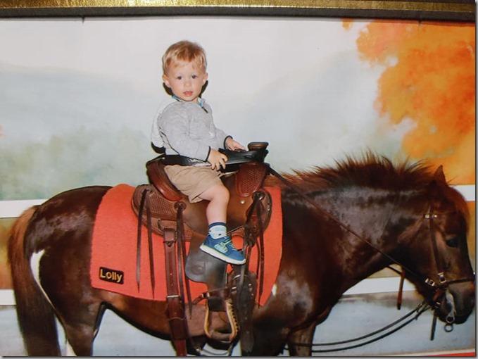 Quinn on Horse 6-22-19