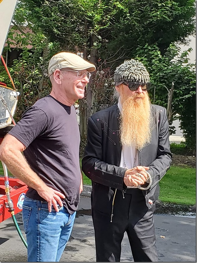 Chip and Billy Gibbons of ZZ Top