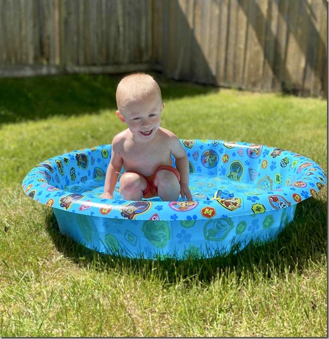 Quinn in Pool 5-9-20