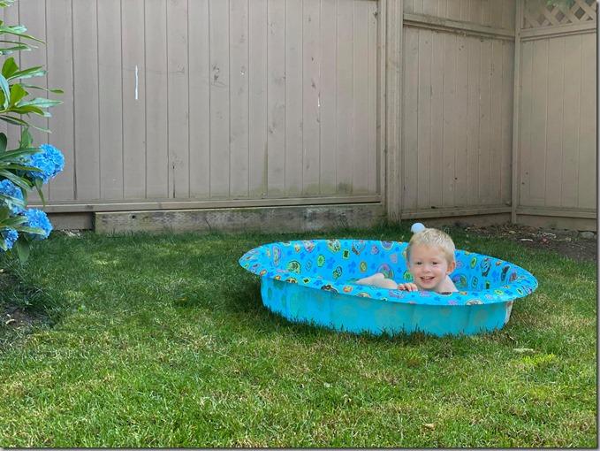 Quinn in Pool-2 7-15-20