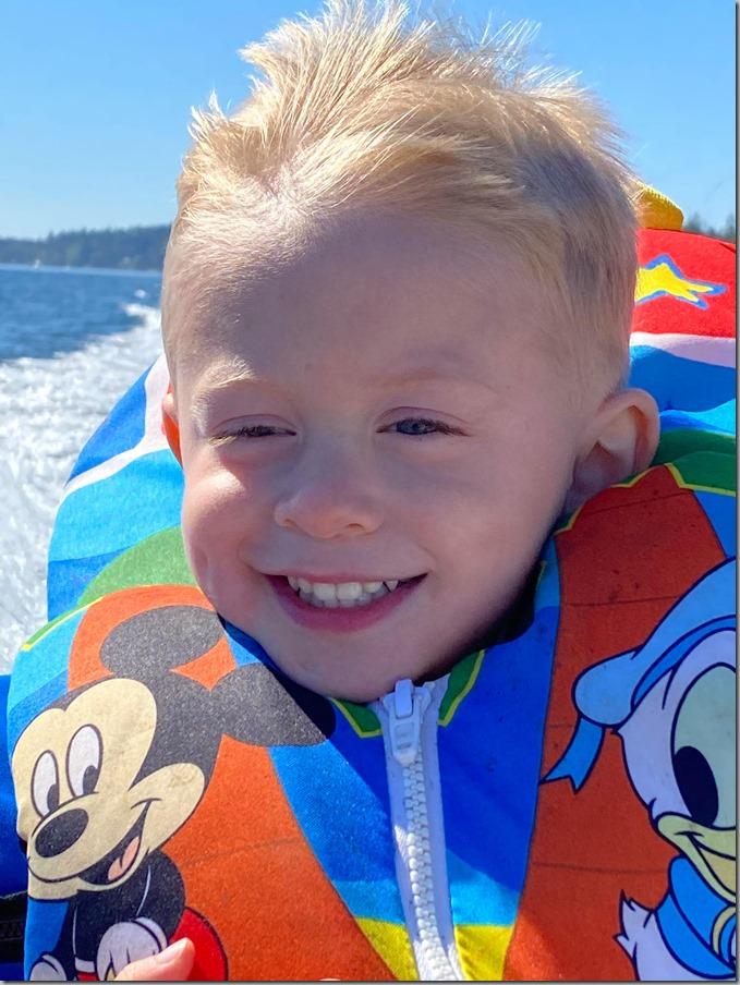 Quinn Boat Ride 9-6-20