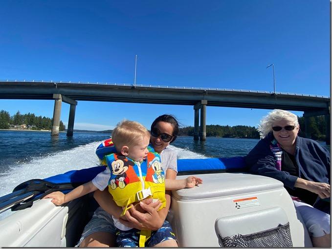 Quinn Sandra Nonna on Boat 9-6-20