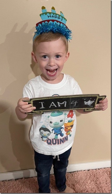 Excited Birthday Boy 9-17-21