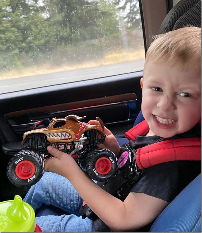 Quinn's Monster Truck 9-18-21