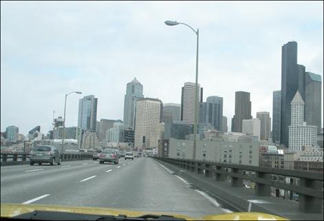 Entering Seattle