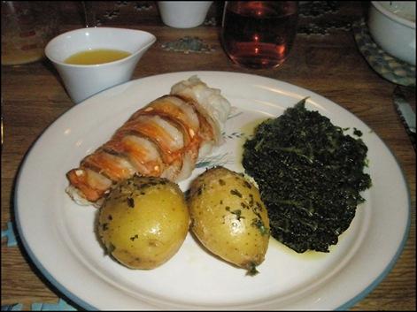 Lobster dinner 02-16-08